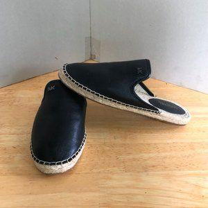 New Michael kors Mule espadrilles leather rope